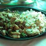 Cordeiro com arroz