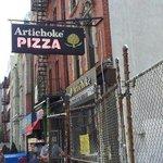 artichoke's pizza