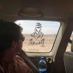 Atravesando el desierto en el coche de Aziz