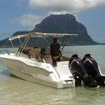île aux Bénitiers face au morne