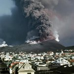 Westman island eruption from 1973