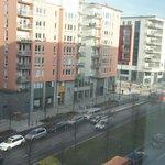 utsikt från rummet på 8onde våning