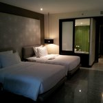 habitación: las camas