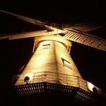 Windmill at Night - taken from its Base