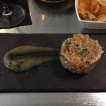 Amazing salmon tartar!
