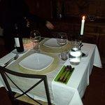 cena a lume di candela