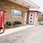 Side of motel