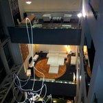 Vista desde el hall