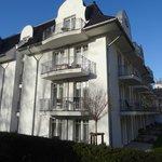 Balkon von Suite 144 (Mitte)