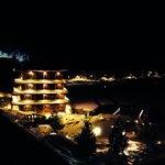 Der Chinaturm bei Nacht