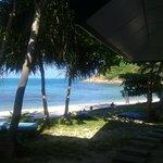 Отельский пляж