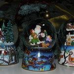 Christmas music balls