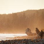 Sombrio Beach Surfing at Sunset