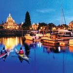 Kayaking in the Inner Harbour