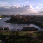 Utsikten mot floden