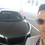 Audi R8 and me- ready to rip up the track! #JamesDeanForAday