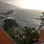 Nuestra preciosa vista de la Bahía de Funchal.