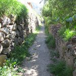 Secret Inca Path to Market square