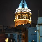 view over Galata Tower