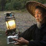 Xingping cormorant fisherman