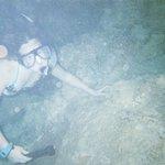 snorkeling in wet cave