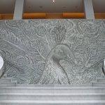 Wunderbares Mosaik in der Lobby