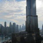 Burj Khalifa View from our studio