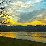Nisqually Wildlife Refuge at Sunset