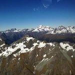 flying over the Southern Alps...