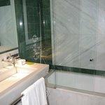 The bathroom was gorgeous; great bathtub/shower.