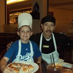 My son and Chef Paul