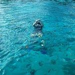 Surrounded by colorful fish at Racha Yai Island Phuket