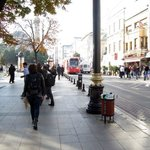 The hotel is a walk away from major attractions - and the tram. Traffic in Istanbul is now horri