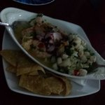 Ceviche mixto. Best part of our meal.