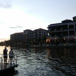Nice sunset view at the Melaka river