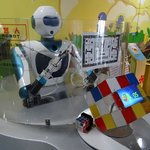 Rubik's Cube Robot - the 'completed' cube