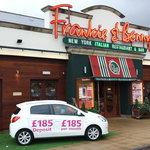 Welcome To Coatbridge Frankie & Benny's!