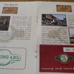 北ボルネオ鉄道乗車のパスポート
