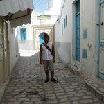 Lokalna ulicyka na Medinie