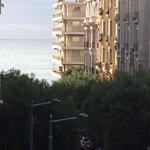 部屋から海側の景色