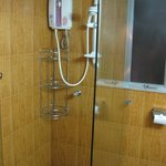 Separated shower area
