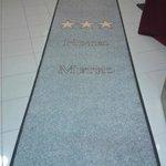 alfombra de hall