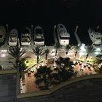 Night view to Marina
