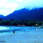 Mount of Santubong view