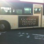 The Shuttle bus from Gotemba Station