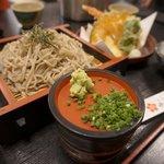 中村屋 蕎麦と天ぷらセット