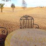 Terrasse côté Sahara