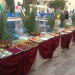 Turkish night open buffet starters