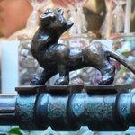 Katze am Sieben Faulen Brunnen (Bremer Stadtmusikanten)
