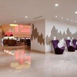 Reception to EDG Bar & Lounge